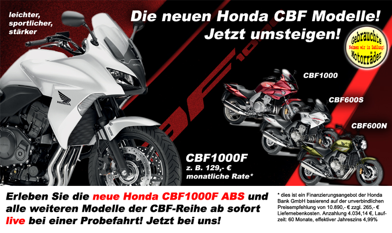 die neuen cbf modelle sind da honda motorradhaus schwan. Black Bedroom Furniture Sets. Home Design Ideas