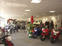 Motorräder im Motorradhaus Schwan